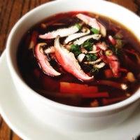 Photo taken at Wild Ginger Pan-Asian Vegan Cafe by Kate T. on 1/14/2013