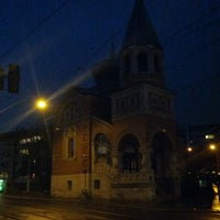 Photo taken at Russische Kirche by Gregory K. on 3/24/2015