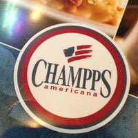 Photo taken at Champps by Chris R. on 4/12/2013