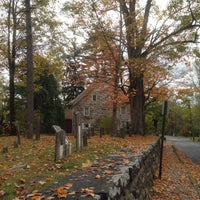 Photo taken at Historic Huguenot Street by Jeremy W. on 10/14/2014