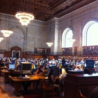 Photo taken at New York Public Library by Jonathan G. on 4/25/2013