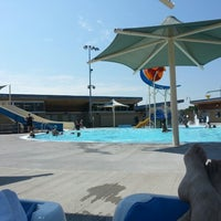 Photo taken at The Bay Aquatics Center by Charles W. on 7/12/2013