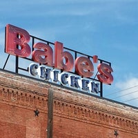 Photo taken at Babe's Chicken Dinner House by Matthew C. on 7/27/2013