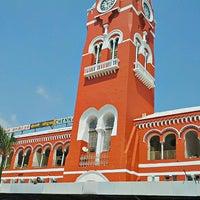 Photo taken at Chennai Central Sub Urban Station by Subhramani S. on 2/22/2013