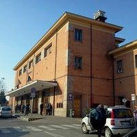 Photo taken at Stazione Ferrara by alessandra c. on 2/9/2013