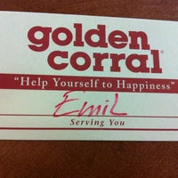 Photo taken at Golden Corral by Jesi on 1/3/2013