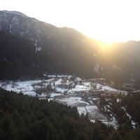 Photo taken at Mirador Escaldes by La on 12/21/2013