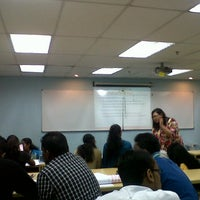 Photo taken at Unitar International University, Bandar Sunway by Christine A. on 7/8/2013