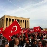 Photo taken at Tandoğan Square by Murat on 10/29/2012