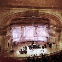 Photo taken at Carnegie Hall by Anthony C. on 3/8/2013