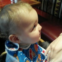 Photo taken at Red Robin Gourmet Burgers by Aaron M. on 9/29/2012