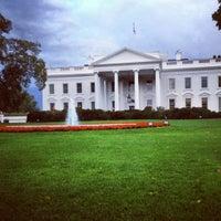 Photo taken at South Lawn - White House by Jori B. on 10/15/2012