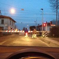 Photo taken at Stazione FS di San Zeno by Tails T. on 2/18/2013
