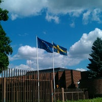 Photo taken at Embassy of Sweden by Dmitry on 6/13/2013