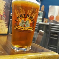 Photo taken at Lengthwise Brewing Company by Raymond H. on 8/21/2016