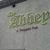 Photo taken at The Abbey Trappist Pub by Raymond H. on 1/9/2013