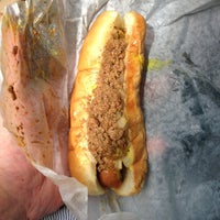 Photo taken at Dick's Hot Dog Stand by Charles B. on 9/19/2013