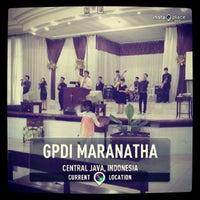 Photo taken at GPdI Maranatha by Abraham S. on 10/13/2013