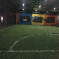 Photo taken at Gading Futsal by Syahrul Y. on 4/26/2013