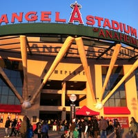 Photo taken at Angel Stadium of Anaheim by Annie M. on 2/10/2013