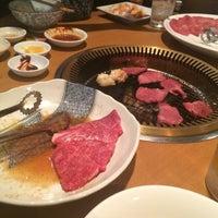 Photo taken at 焼肉 牛三郎 by seble on 12/27/2015