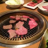 Photo taken at 焼肉 牛三郎 by seble on 9/1/2015
