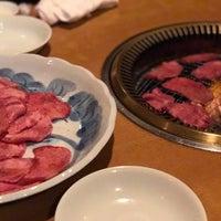 Photo taken at 焼肉 牛三郎 by seble on 4/9/2017
