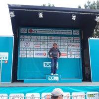 Photo taken at 49th Presidential Cycling Tour Of Turkey 2013 (49. Cumhurbaskanligi Bisiklet Turu Alanya Etabi 2013) by Seçkin TERCAN on 4/21/2013