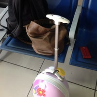 Photo taken at Lamezia Airport Gate D1 by Elena S. on 7/19/2013