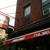 Photo taken at Corner Burger by Jason M. on 10/6/2012