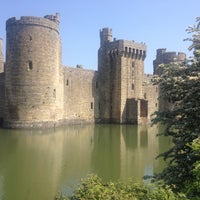 Photo taken at Bodiam Castle by Rick on 5/18/2014