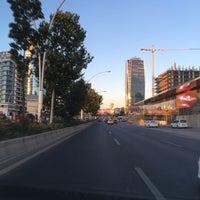 Photo taken at İnönü Bulvarı by Emel on 7/10/2016