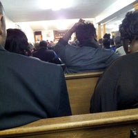 Photo taken at Pentecostal Deliverance Spiritual Church by Briana D. on 12/31/2012