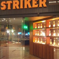Photo taken at Striker Casual Bowling by Claudio M. on 4/22/2013