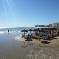 Photo taken at Playa El Salaret / Los Locos by Blas C. on 11/1/2012