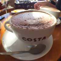 Photo taken at Costa Coffee by Kamil C. on 3/7/2014