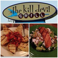 Photo taken at Kill Devil Grill by LanChi N. on 8/10/2013