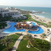 Photo taken at Sofitel Bahrain Zallaq Thalassa Sea & Spa by Kanu K. on 11/16/2012