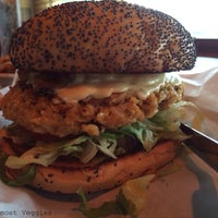 Photo taken at Snuffer's by AlmostVeggies.com on 2/22/2014
