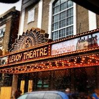 Photo taken at Levoy Theatre by Alan M. on 9/28/2012