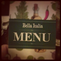 Photo taken at Bella Italia by Tilen on 10/13/2012