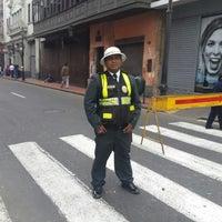 Photo taken at tránsito centro by Yuri Leonel A. on 9/1/2013