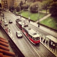 Photo taken at Hotel Roma Prague by /\EHOK on 10/6/2012