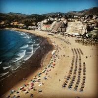 Photo taken at Playa De La Concha by Maria Luisa T. on 6/29/2013