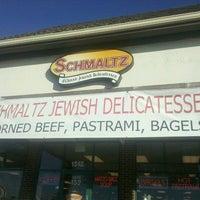 Photo taken at Schmaltz Deli by Maura S. on 12/12/2012