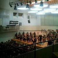 Photo taken at UdK Konzertsaal Bundesallee by Sebastián L. on 9/27/2012