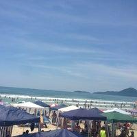 Photo taken at Praia Grande by Giovanni M. on 1/8/2013