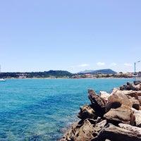 Photo taken at Hotel Pantheon Tsilivi Zakynthos by Snezhana on 7/24/2014