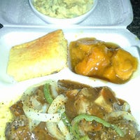 Photo taken at Soul Food $5 Dinners by Chesty U B. on 2/23/2013