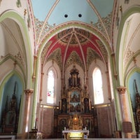 Photo taken at St. Adalbert Church by Kim on 7/1/2014